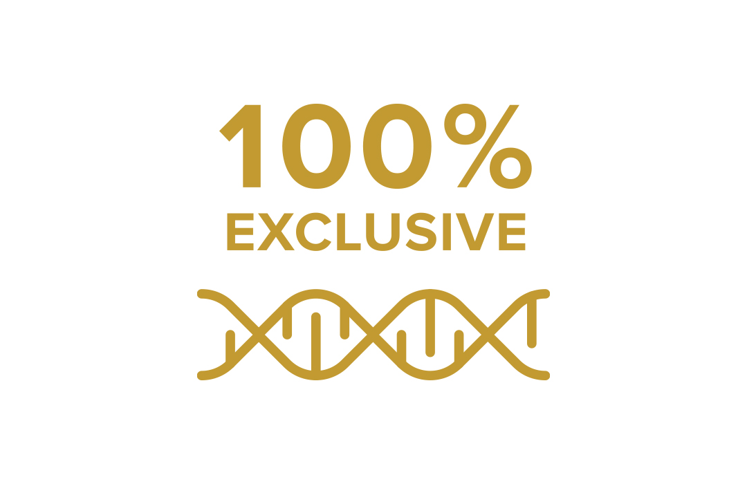 DEKALB® 100% Exclusive Genetics Icon