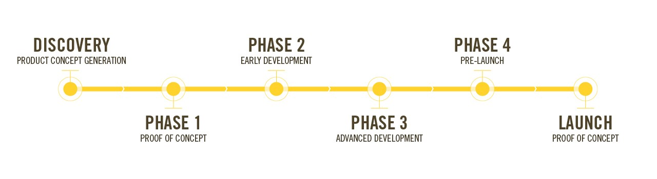 DEKALB® Pipeline Development Phases Graphic