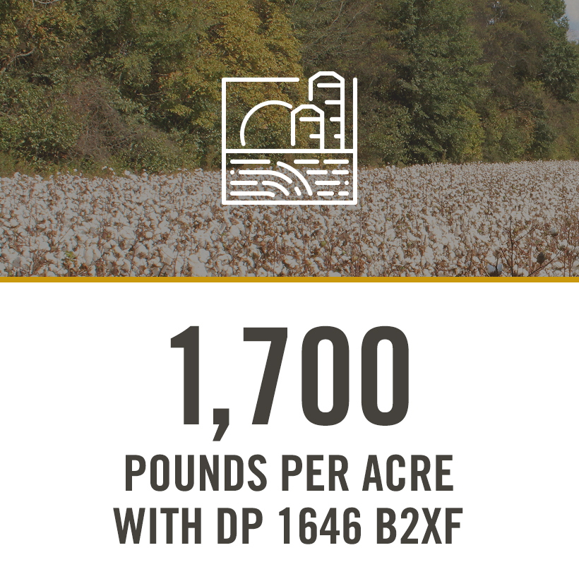 1700 POUNDS PER ACRE WITH DP 1646 B2XF