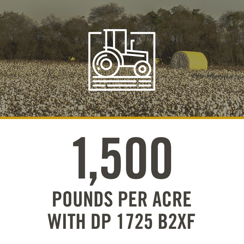 1500 POUNDS PER ACRE WITH DP 1725 B2XF