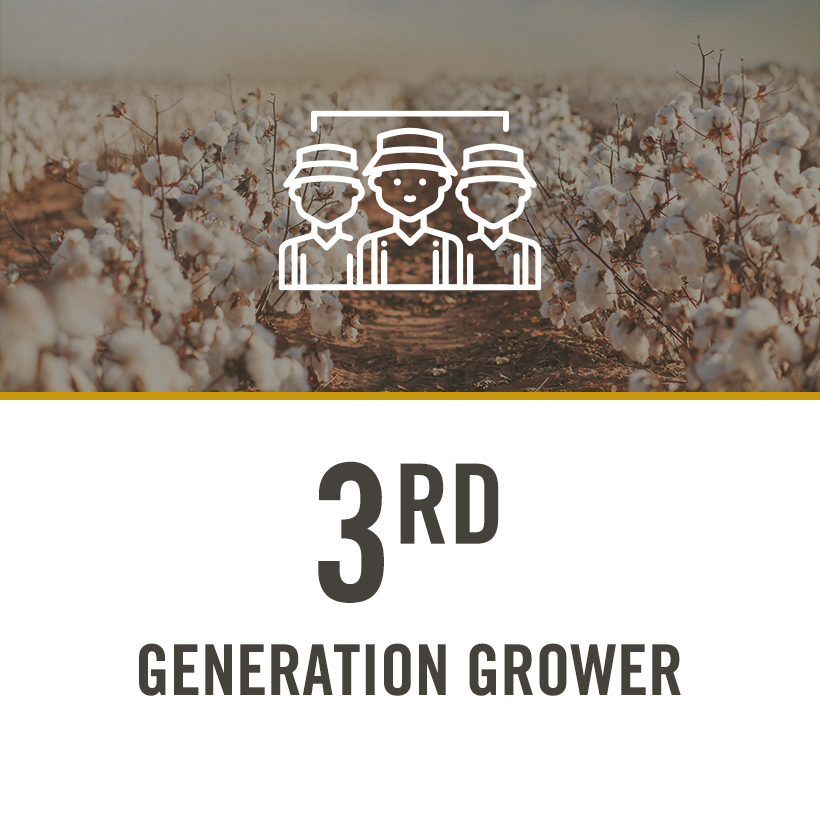 3rd generation grower